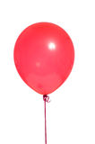 Party Balloons on white. A red party balloon on a white background stock image