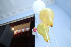 Party baloon decoration Royalty Free Stock Images