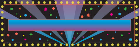 Party Banner Background Stock Photos