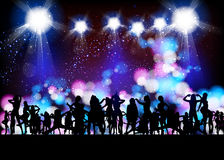 Party banner Stock Photography