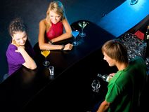Party in the bar Royalty Free Stock Photography