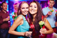Party in bar Royalty Free Stock Image