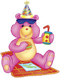 Party bear Stock Images