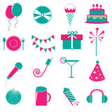 Party and birthday icon Royalty Free Stock Photo