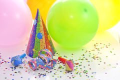 Party birthday new year background royalty free stock image