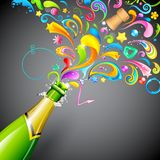Party Blast Royalty Free Stock Images