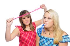 Party blower Royalty Free Stock Image