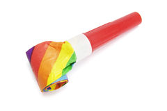 Party Blower. On white background stock photo