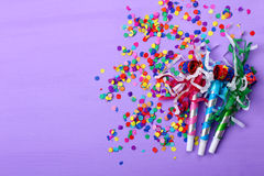 party blower Royalty Free Stock Photo