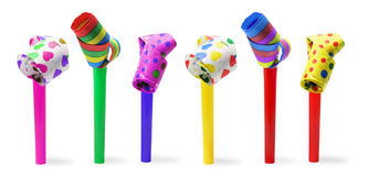 Party Blowers Royalty Free Stock Photography