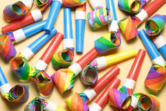 Party Blowers Stock Photography