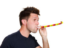 Party blowers Stock Images
