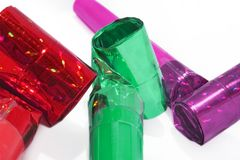 Party blowers Stock Image