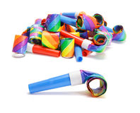 Party Blowers Royalty Free Stock Photos