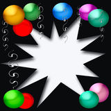 Party blowout Royalty Free Stock Image