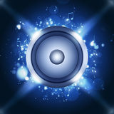 Party Blue Background Royalty Free Stock Photos