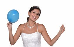 Party bride. Stock Photography