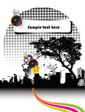 Party brochure. An illustration of a party brochure Royalty Free Stock Photo