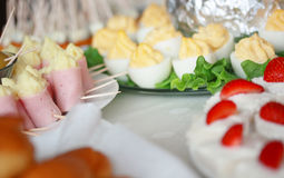 Party buffet Royalty Free Stock Photography