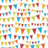 Party bunting Stock Photo