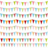 Party bunting Royalty Free Stock Image