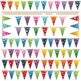 Party bunting Royalty Free Stock Images