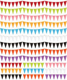 Party bunting pack Royalty Free Stock Images