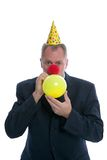 Party businessman Stock Images