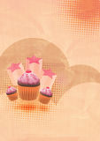 Party cake background Royalty Free Stock Images