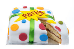 Party cake Royalty Free Stock Images