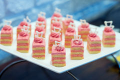 Party canapes Royalty Free Stock Photography