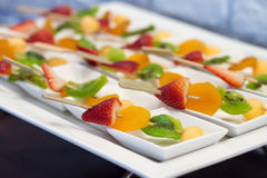Party canapes Stock Photography