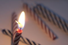 Party candles Royalty Free Stock Photography
