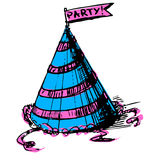 Party cap decorated Stock Images