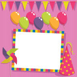 Party card Royalty Free Stock Images