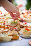 Party Catering Royalty Free Stock Photo