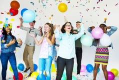 Party Celebrate Enjoyment Festive Activities Stock Photography