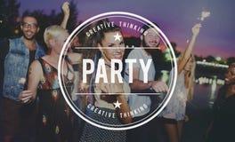 Party Celebrate Entertainment Event Festival Social Concept Stock Images