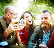 Party Celebrating Friendship Drinking Togetherness Concept Stock Images