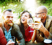 Party Celebrating Friendship Drinking Togetherness Concept Royalty Free Stock Image
