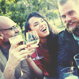 Party Celebrating Friendship Drinking Togetherness Concept Stock Photography