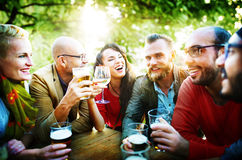 Party Celebrating Friendship Drinking Togetherntess Concept Royalty Free Stock Images