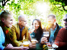 Party Celebrating Friendship Drinking Togetherntess Concept Stock Photography