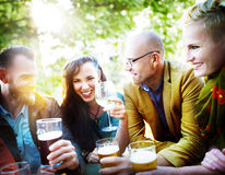 Party Celebrating Friendship Drinking Togetherntess Concept Royalty Free Stock Image