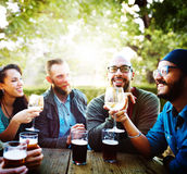 Party Celebrating Friendship Drinking Togetherntess Concept Stock Photo