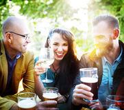 Party Celebrating Friendship Drinking Togetherntess Concept Stock Image
