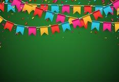 Party celebration background. Stock Image