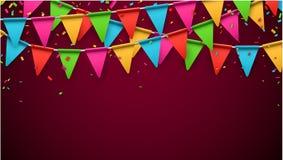 Party celebration background Stock Image