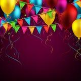 Party celebration background. Stock Photos