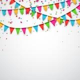 Party celebration background. Royalty Free Stock Photo